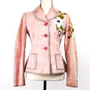 Moschino Vintage Suede Jacket